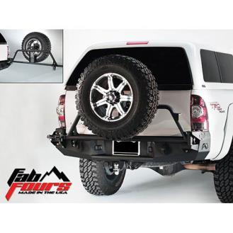 Fab Fours - Rear Heavy Duty Bumper - 2005-2015 Tacoma