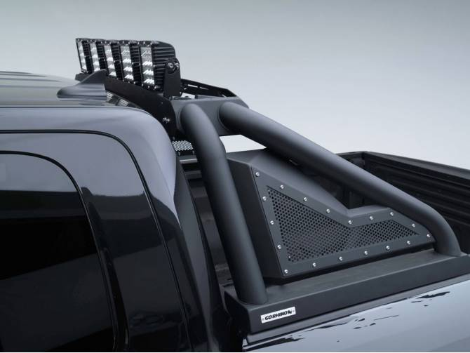 GO Rhino Power Actuated Light Bar - 2017-2019 Raptor ...