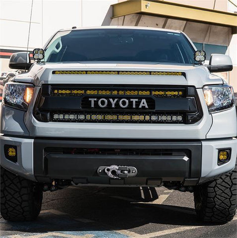 '14-18 TOYOTA TUNDRA SDHQ BUILT BEHIND THE GRILLE LED LIGHT BAR MOUNT