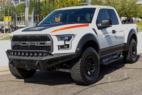 ADD HoneyBadger Side Steps - 2015+ F-Series (SuperCab)