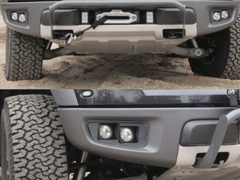 <b>KIT: 4 Vision X Optimus Halo Lights</b><br>+'10-'14 Raptor Bezels +Hardware