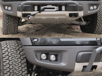 KIT: 4 Vision X Optimus Lights + Bezels + Hardware - 2010-2014 Raptor
