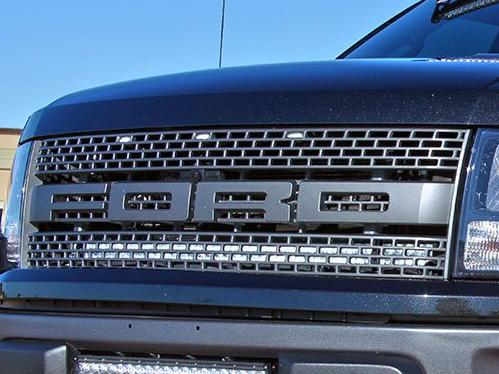 "Rigid Industries 40"" inch Behind Grill Light and Mount - 2010-2014 SVT Raptor"
