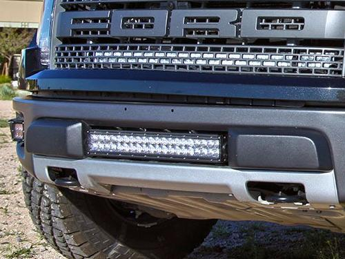 "Rigid Industries 20"" Light and Mount - 2010-2014 Raptor"