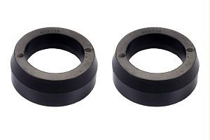 "Toytec Rear 1.5"" lift Black Spacers Poly for FJ/4Runner"