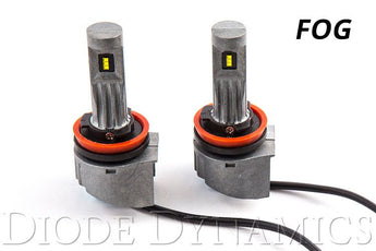 Diode Dynamics H10 Series Fog Lights LED Bulbs (Pair)