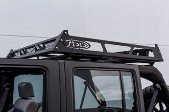 "ADD Maxrax Universal Roof Rack 55""x50.25"" with Camper Shell Slide Rail"