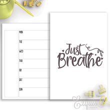 Planner Inserts | Week On 1 | Printable B6 TN Inserts