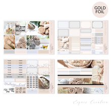 Planner sticker | Foil Mini Kit | Calm
