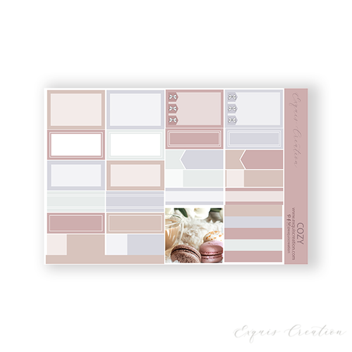 Planner Sticker | Functional Sheet | Cozy