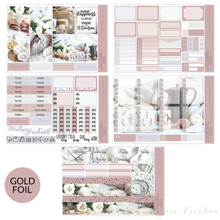 Planner sticker | Foil Full Kit | Cozy
