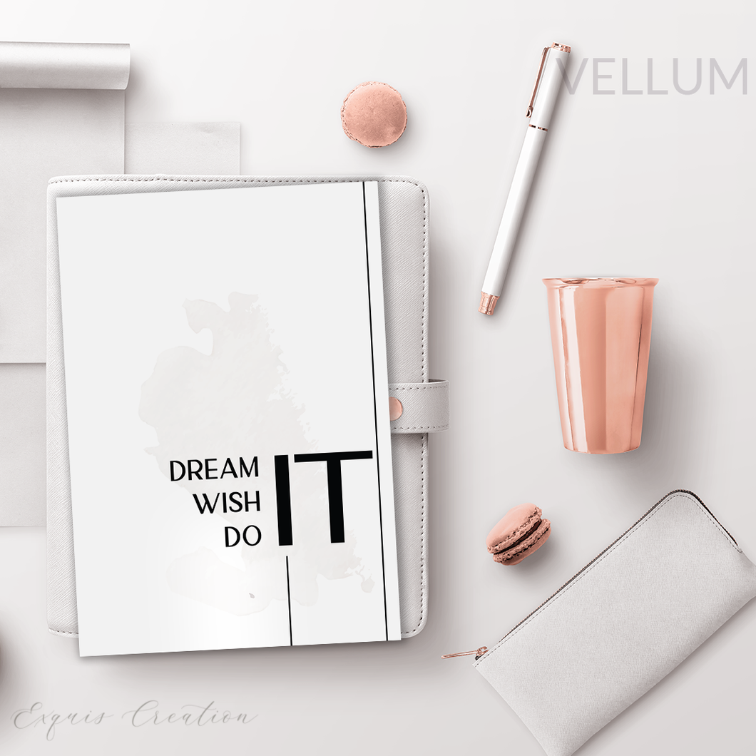 Vellum | Dashboard | Dream It