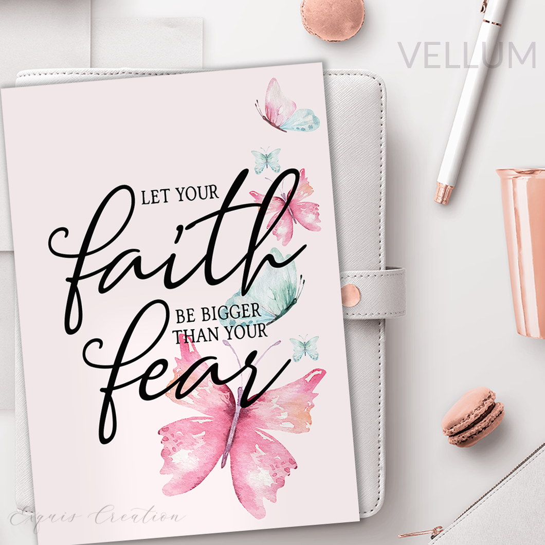 Vellum | Dashboard | Faith