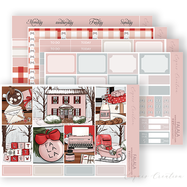 Planner sticker | Full kit | Falala
