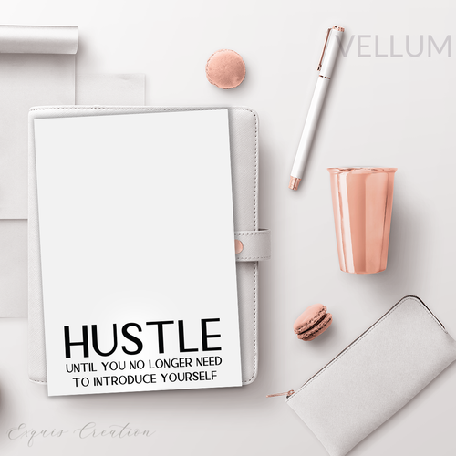 Vellum | Dashboard | Hustle