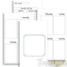Planner Inserts | Undated Personal Week On Two