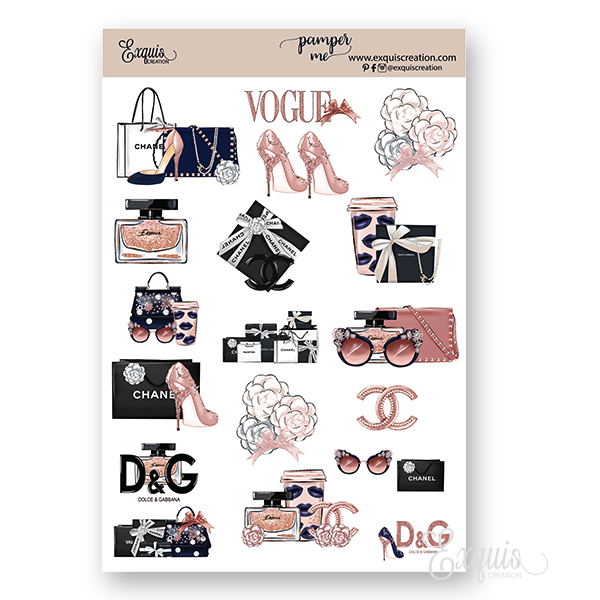 Planner Deco Sheet | Pamper Me