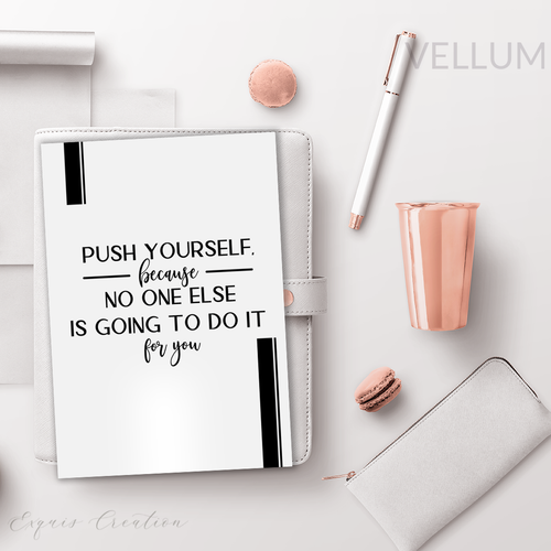 Vellum | Dashboard | Push Yourself