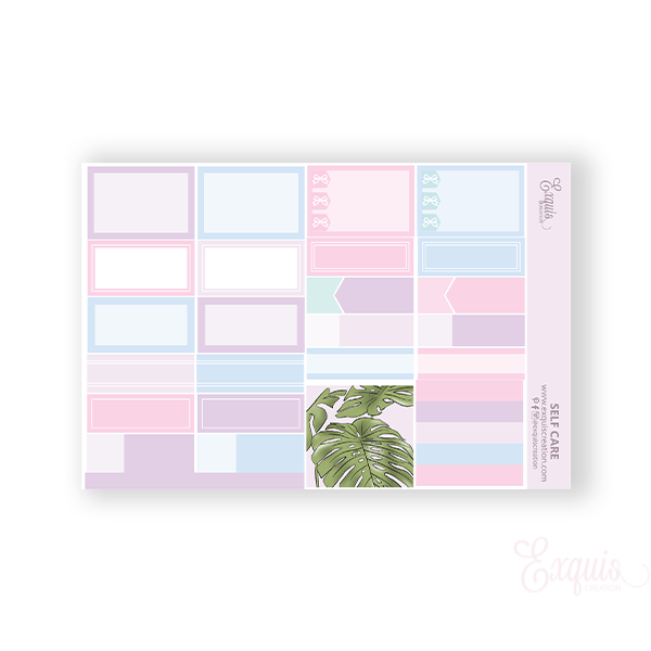 Planner Sticker | Functional Sheet | Self Care