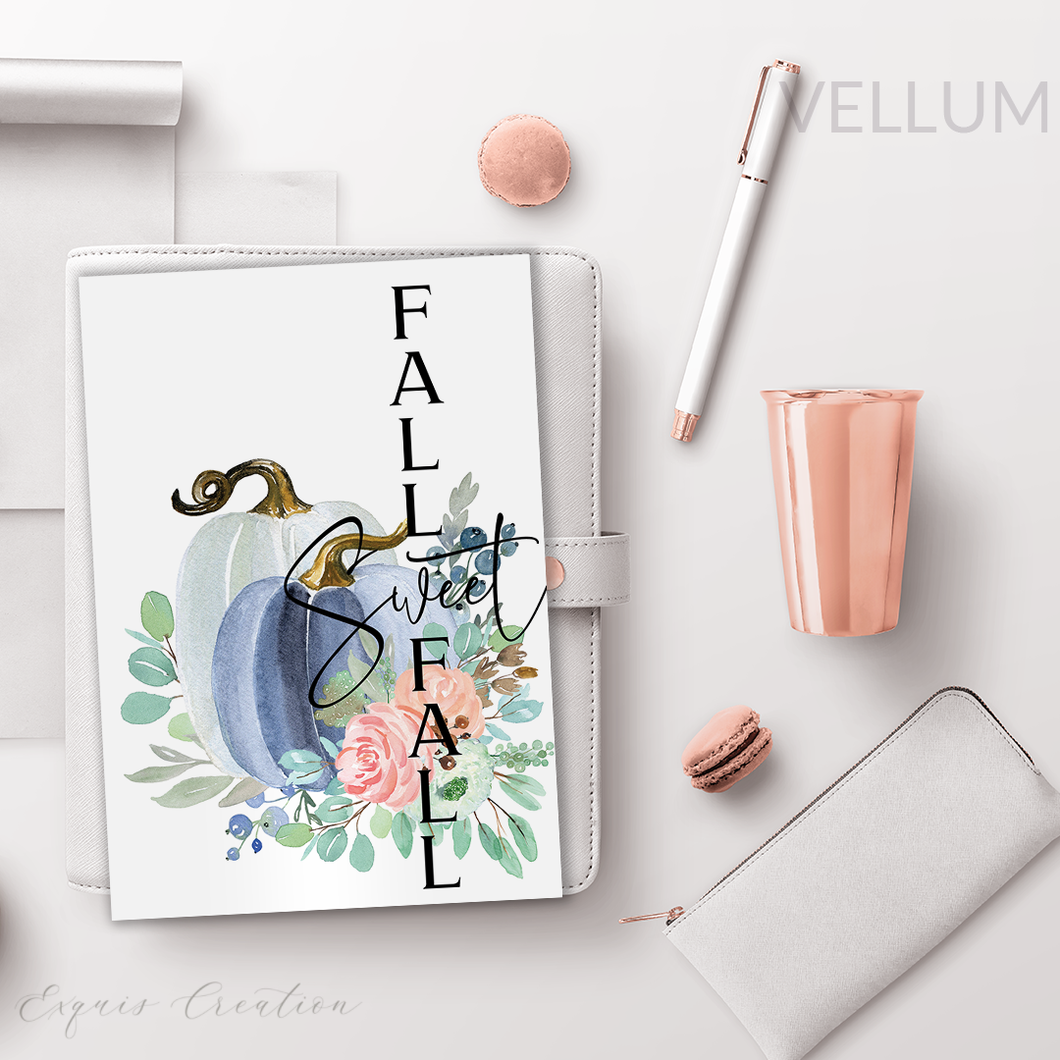 Vellum | Dashboard | Sweet Fall