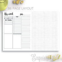 Planner Inserts | Weekly To Do| Printable  Inserts