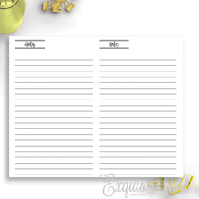 Planner Inserts | Printable Note pages