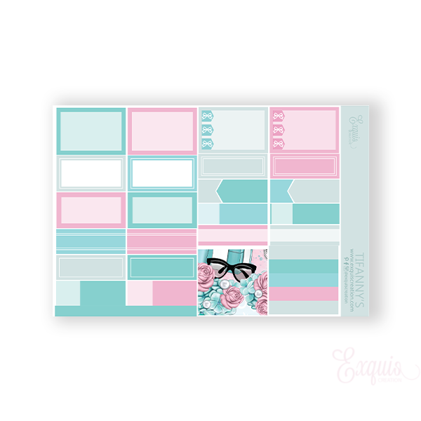 Planner Sticker | Functional Sheet | Tiffany's