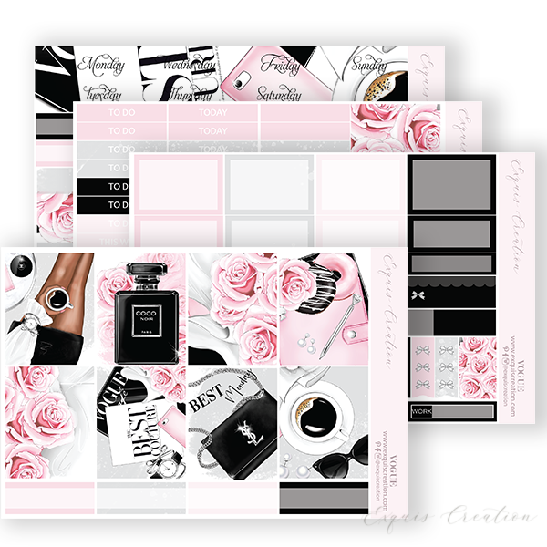 Planner sticker | Vogue