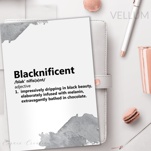 Vellum | Dashboard | Blacknificent