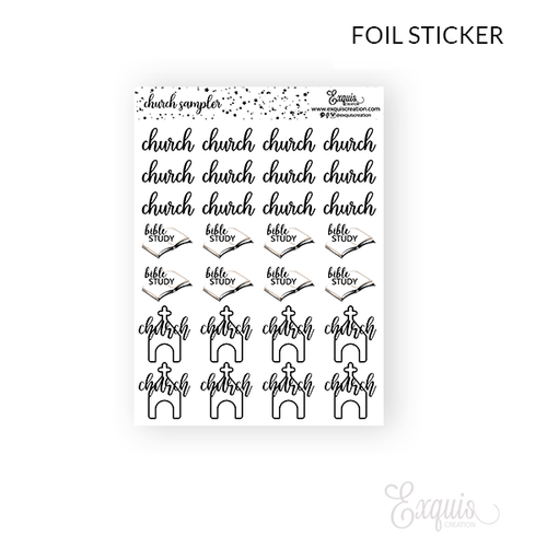 Foil | Church Sampler