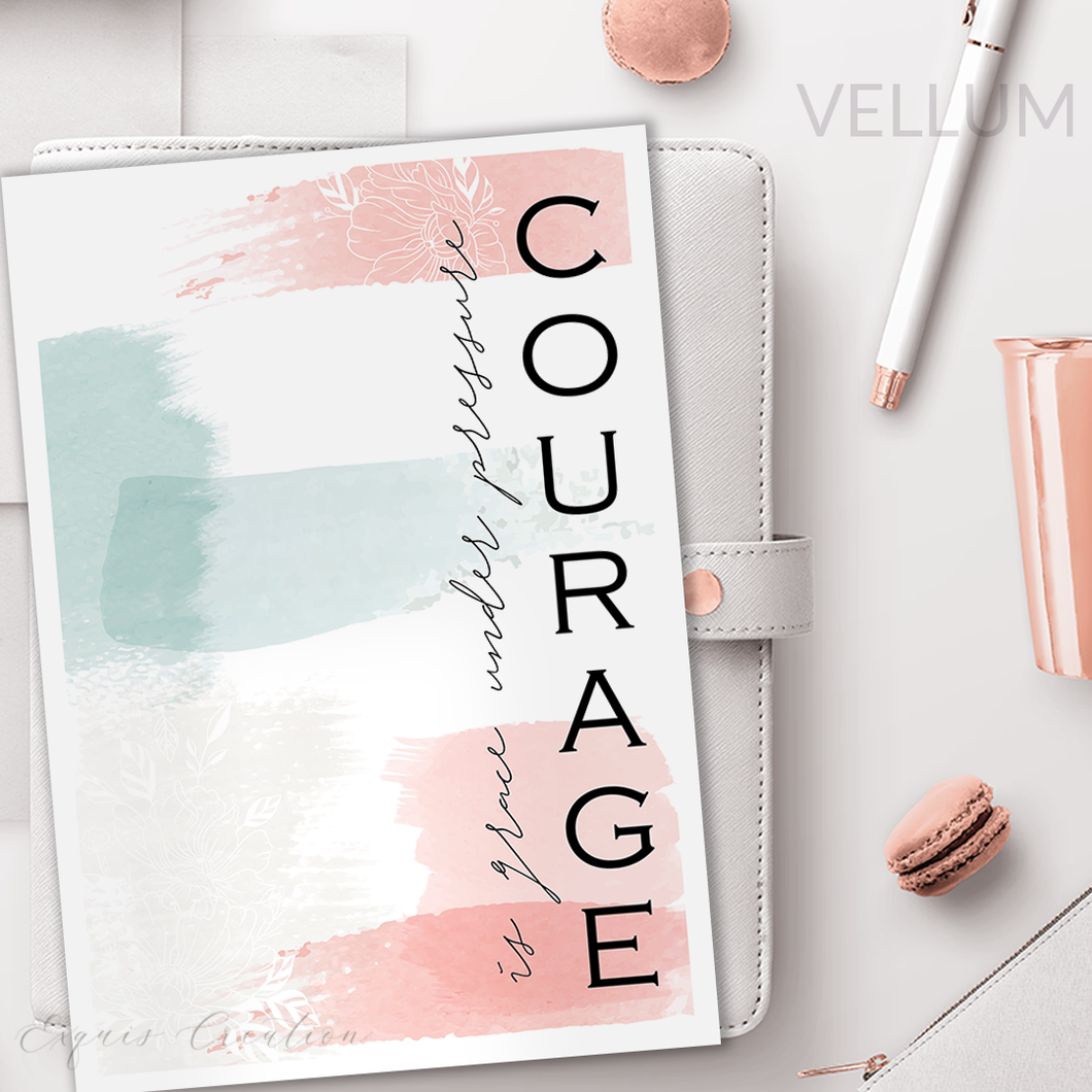 Vellum | Dashboard | Courage
