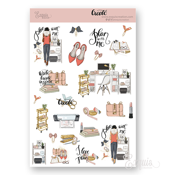 Planner Deco Sheet | Create