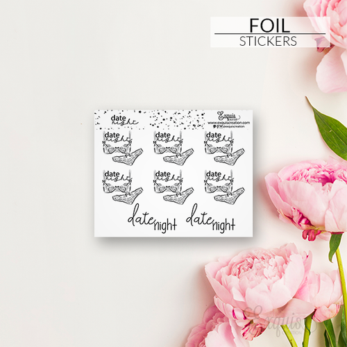 Foil Sticker | Scripts | Date Night