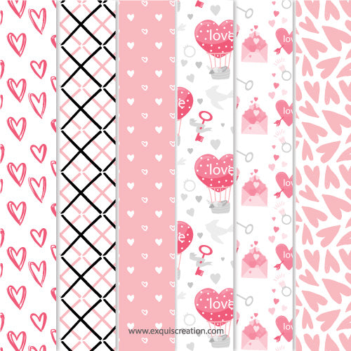 FREE | Love Paper Pack