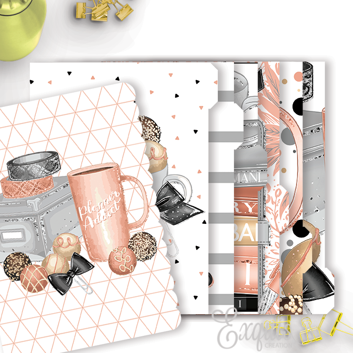 Planner Dividers | Double Sided | Planner Girl