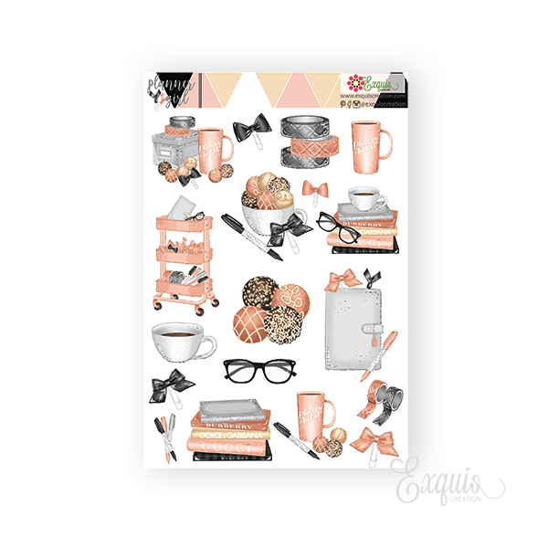 Planner Deco Sheet | Planner Girl