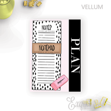 Vellum | Dashboard | Planning