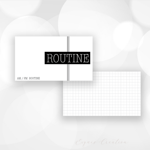 Task Card | 2 x 3.5 | Routine