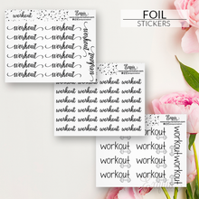 Foil Sticker | Scripts | Workout