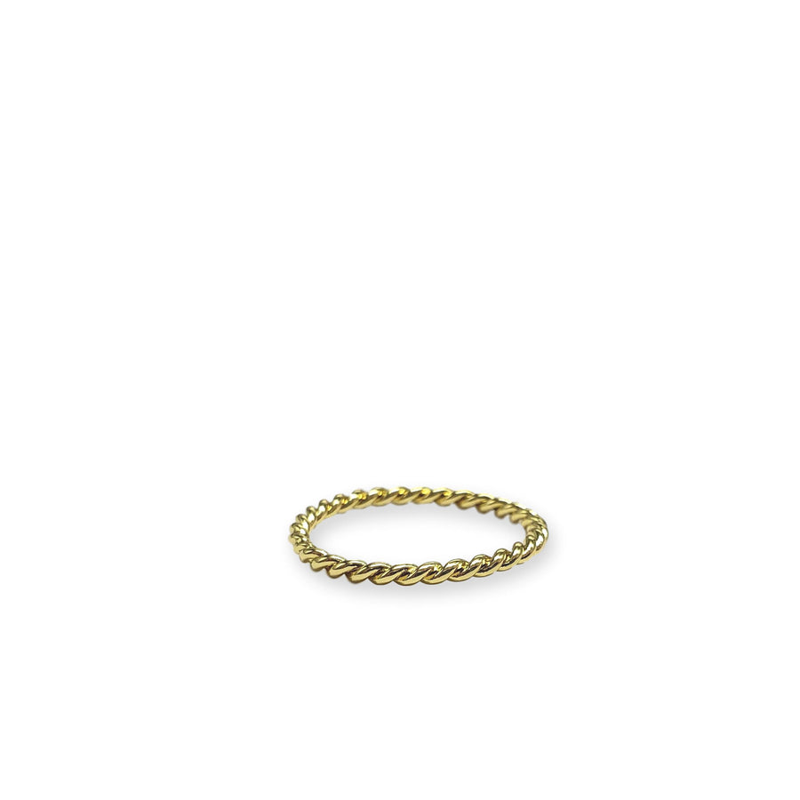 Rope Twist Stacking Ring