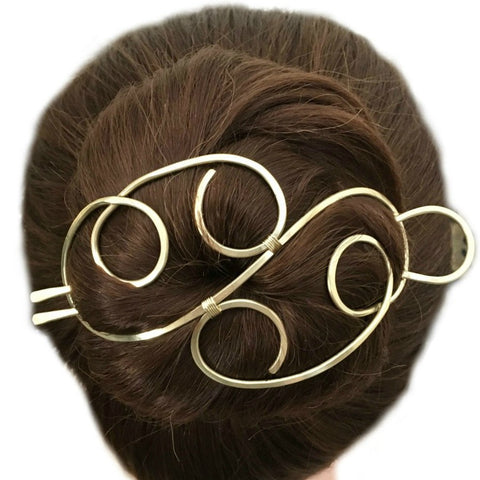 Elegant Hair Bun Holder