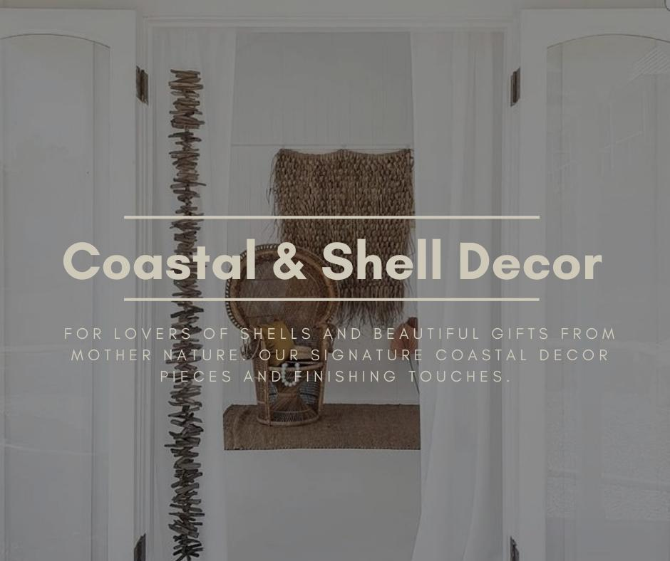 Coastal & Shell Decor