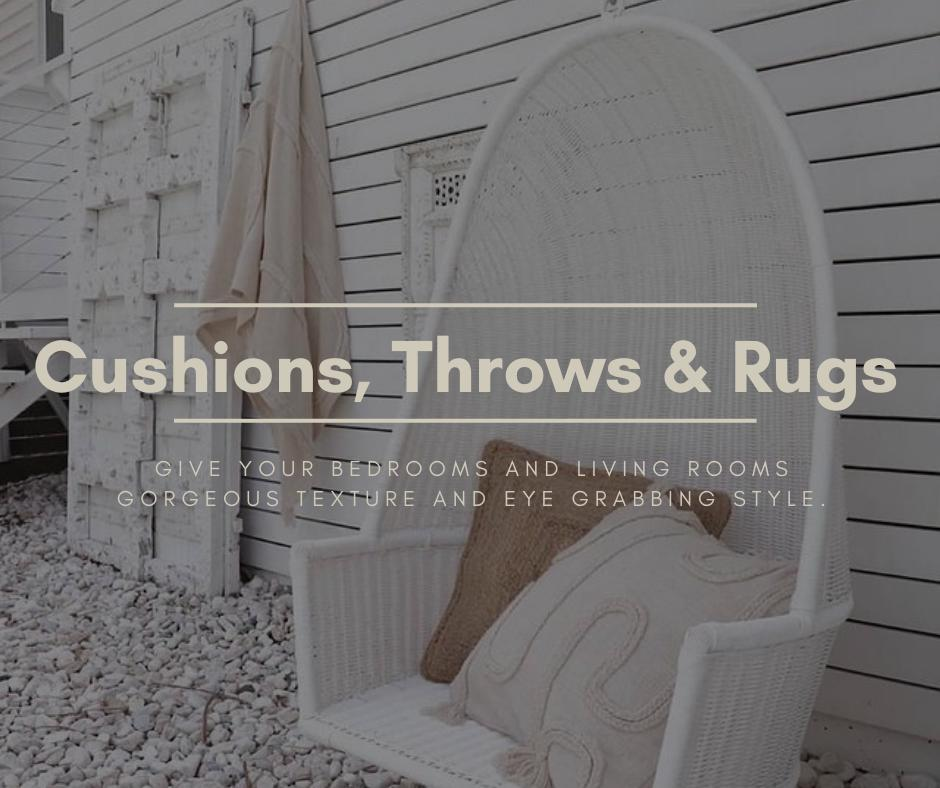 Cushions Throws & Rugs
