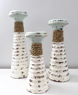 Coastal Candle Holders Set of 3