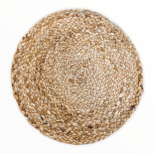 Jute Circle Placemat | Natural | Set of 4