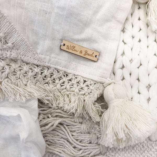 Willow & Beech Collection - Bohemia Luxe Throw PREORDER