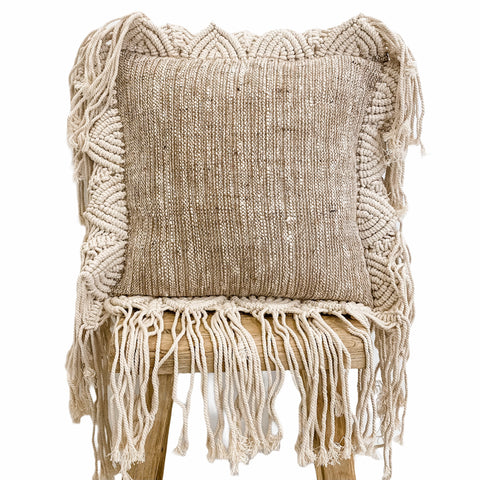 Summer Breeze Square Cushion Earth