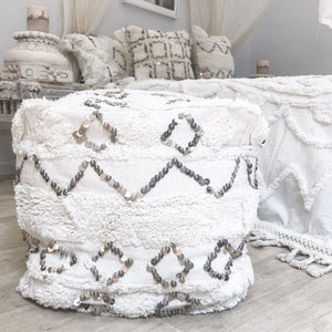 Willow & Beech Collection - Ostara Pouffe 45x45x45cm PREORDER