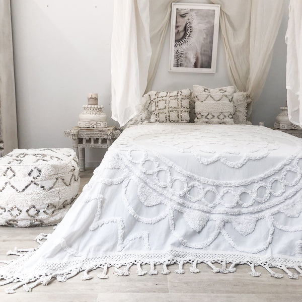 Willow & Beech Collection - Halaya 'Sanctuary' Throw  PREORDER