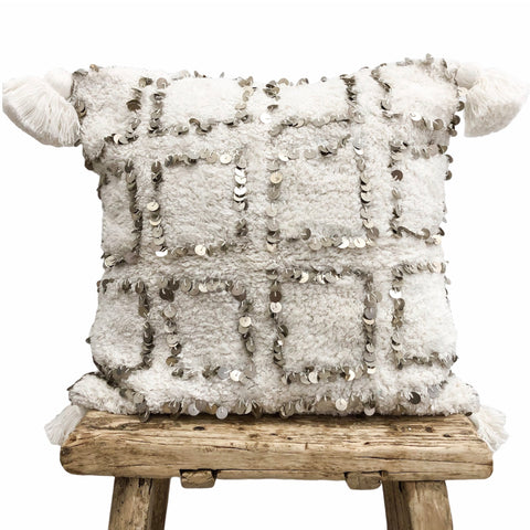 Willow & Beech Collection - Ostara Squares Cushion Cover 45x45cm